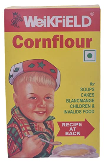 Weikfield Corn Flour, 100g Carton