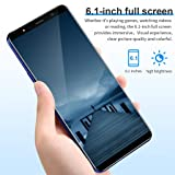 Unlocked Cell Phone, Eight Cores 6.1 inch 16GB Dual SIM Full Screen Smartphone Android 8.1 Dual HD Camera 3G Mobile Phone
