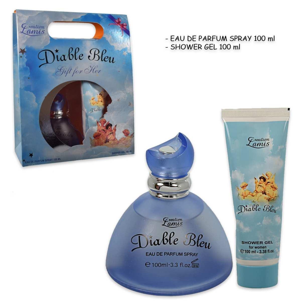 Parfum Bewertungen: Lamis Diable Bleu Women Eau de Parfüm