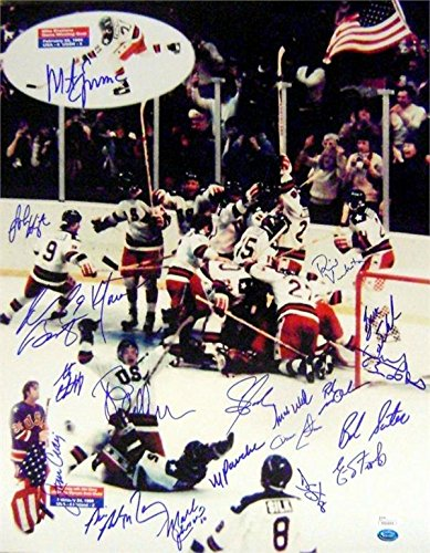 Olympic Team Autographed 16x20 Photo - 7