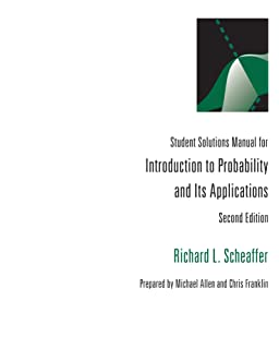 Amazon students solutions manual for introduction to introduction to probability and its applications student solutions manual fandeluxe Gallery