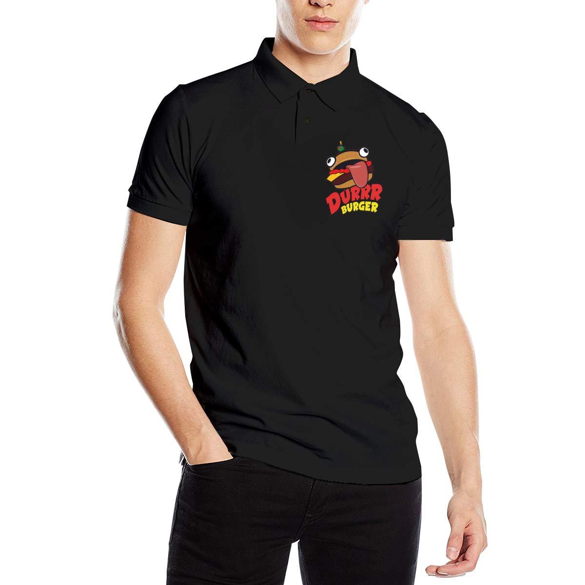 Casy Teey Beef Boss Mens Polo Shirts Black