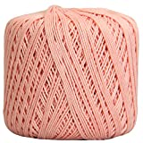 Crochet Thread - SIZE 3 - Color 4 - LT PINK - 2 Sizes - 27 Colors Available