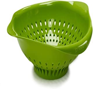 product image for Preserve Large Colander Kitchenware, 3.5 Quart Capacity, Green
