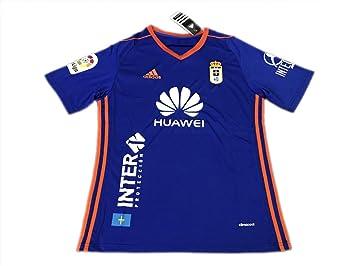 TI Soccer jersey Camiseta de fútbol TI Real O-viedo Home Azul 17-18
