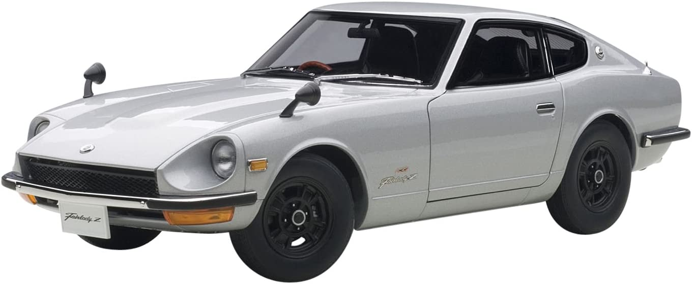 Amazoncom 1969 Nissan Fairlady Z432 Ps30 Silver 118 By