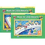 Music For Little Mozarts, Level 2: 2 Book Set (Two Book Set, Lesson Book, Workbook)