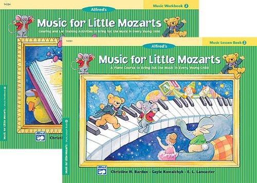 Music Little Mozarts Level Workbook
