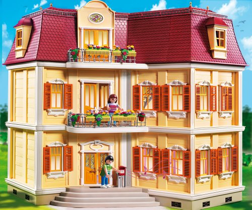 Playmobil 5302 Mein Grosses Puppenhaus Amazon De Spielzeug