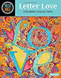 Hello Angel Letter Love Coloring Collection: