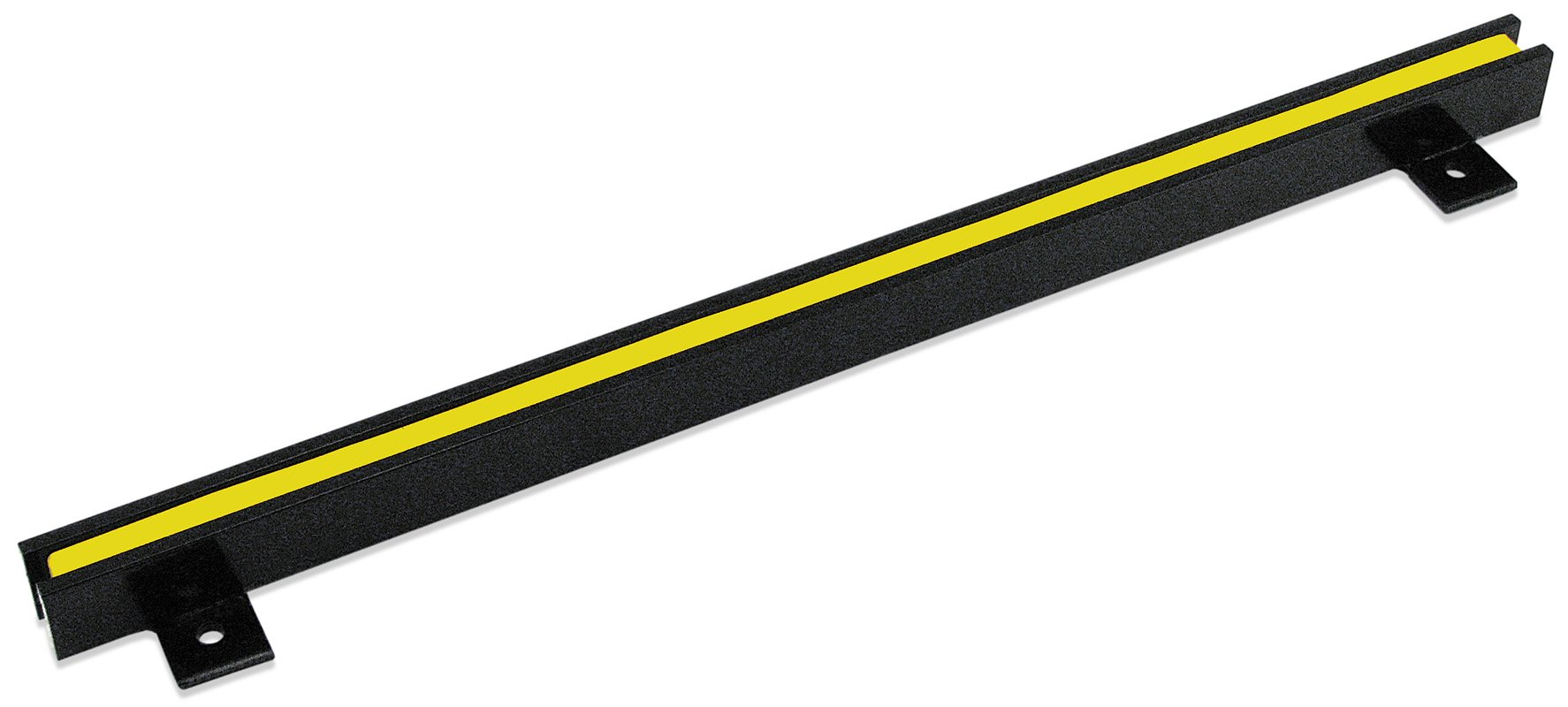 Master Magnetics Magnetic Tool Holder, 18'' Wide, 20 lb per inch, Black Powder Coat with Yellow Stripe, AM4PLC