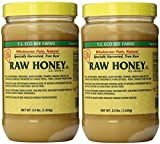 YS Eco Bee Farms RAW HONEY - Raw, Unfiltered, Unpasteurized - Kosher (3 Lb (2 Pack)) by Y.S. Organic Bee Farms