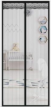 Mampara mosquitera magnética, para puerta, fácil de instalar sin ...