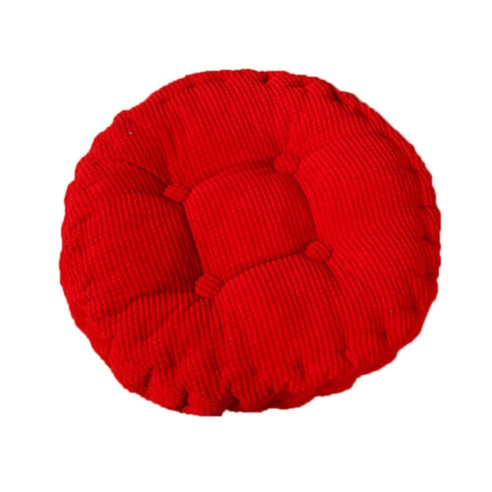 Cuscino per sedia poltrona seduta divano rotondo spesso per casa sala da pranzo auto 40*40cm Violet Multicolore Chytaii