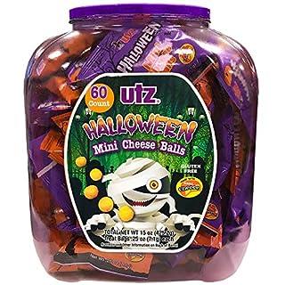 UTZ Halloween Mini Cheese Balls, 60 Count (B0156FZH8S) | Amazon price tracker / tracking, Amazon price history charts, Amazon price watches, Amazon price drop alerts