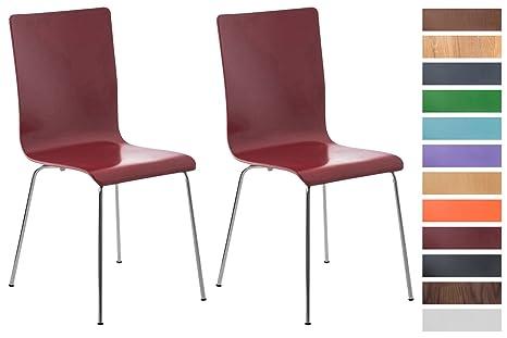 Clp set sedie visitatore pepe sedia attesa con seduta in