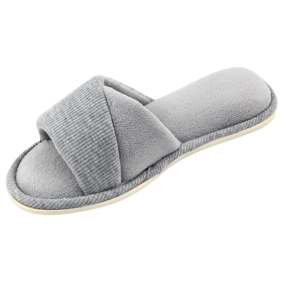 68e601c4e 70% Velvet   30% Terry The special-designed mixing colors vamp makes the  slippers elegant but not monotonous. Easily foldable and portable due to  its ...