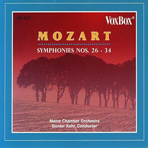 Mozart Symphonies Nos. 26-34