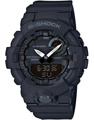 ece0a396b9b2 Casio Reloj Digital para Hombre de Cuarzo con Correa en Resina GBA-800