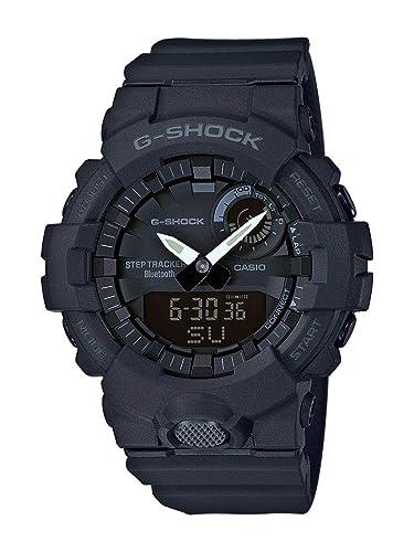 CASIO Reloj Analógico-Digital para Hombre de Cuarzo con Correa en Resina GBA-800-1AER: Amazon.es: Relojes