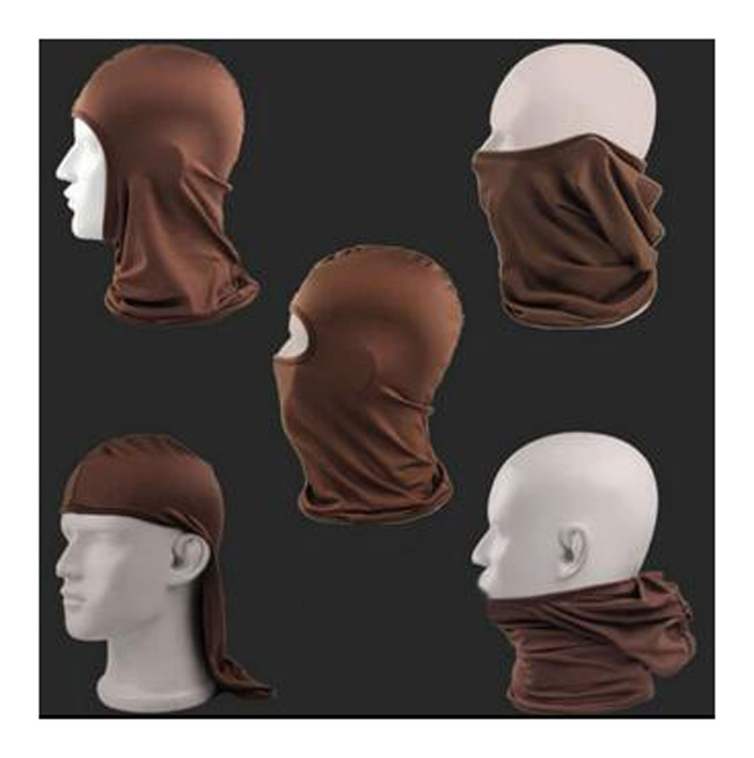 Black Crasy Shop Candy Color Motorcycle Cycling Sports Full Face Mask Ultra Thin Balaclava for Motorcycle Tactical Skiing Sun UV Protection