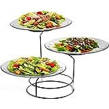 Trueware Glass Serving Platter Set of 3, Standard