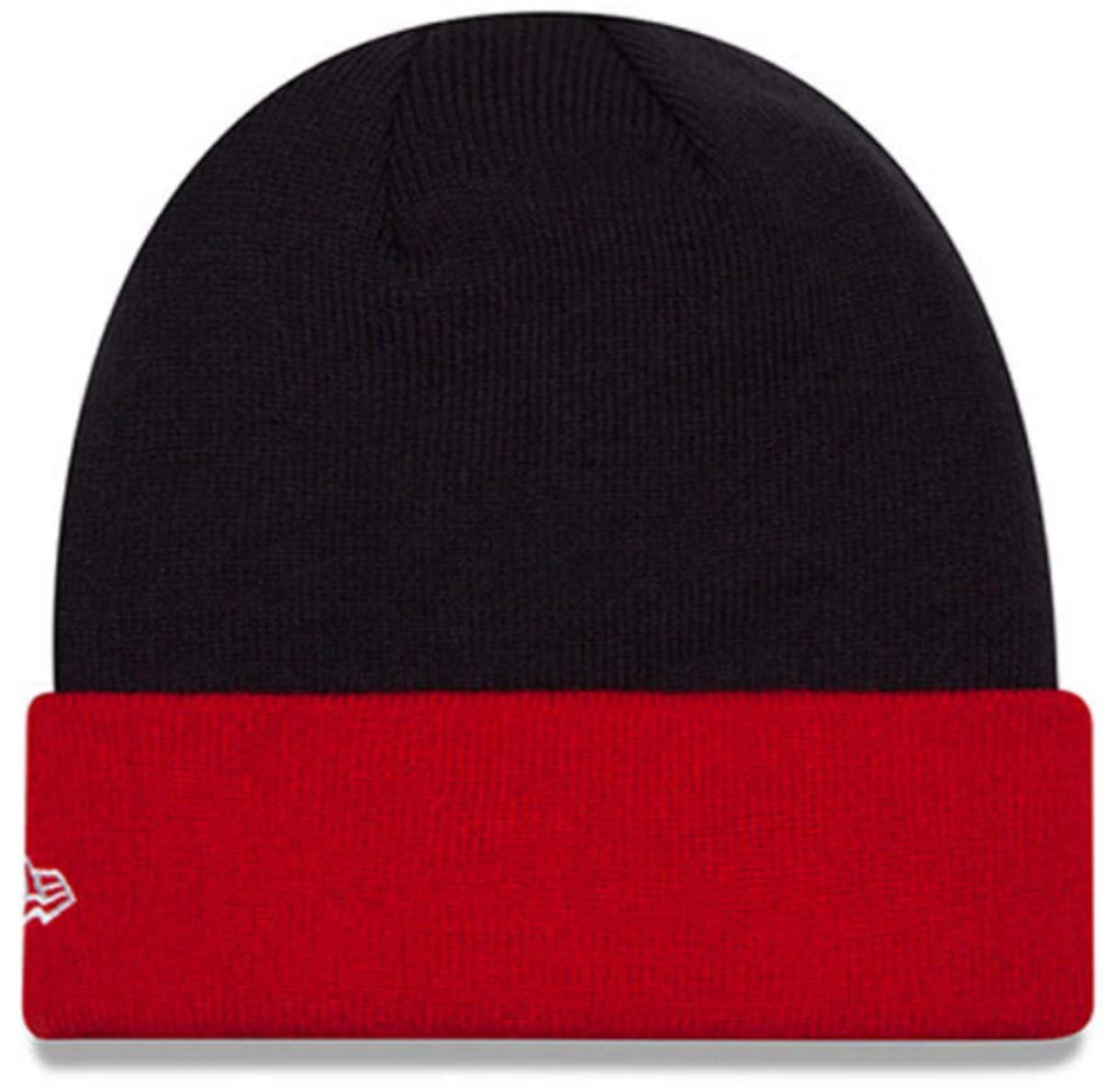 c3130123f89 Amazon.com  Authentic Cleveland Indians Basic Cuff Knit Beanie New Era   Sports   Outdoors