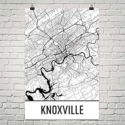 Amazon.com: Knoxville Poster, Knoxville Art Print, Knoxville Wall ...