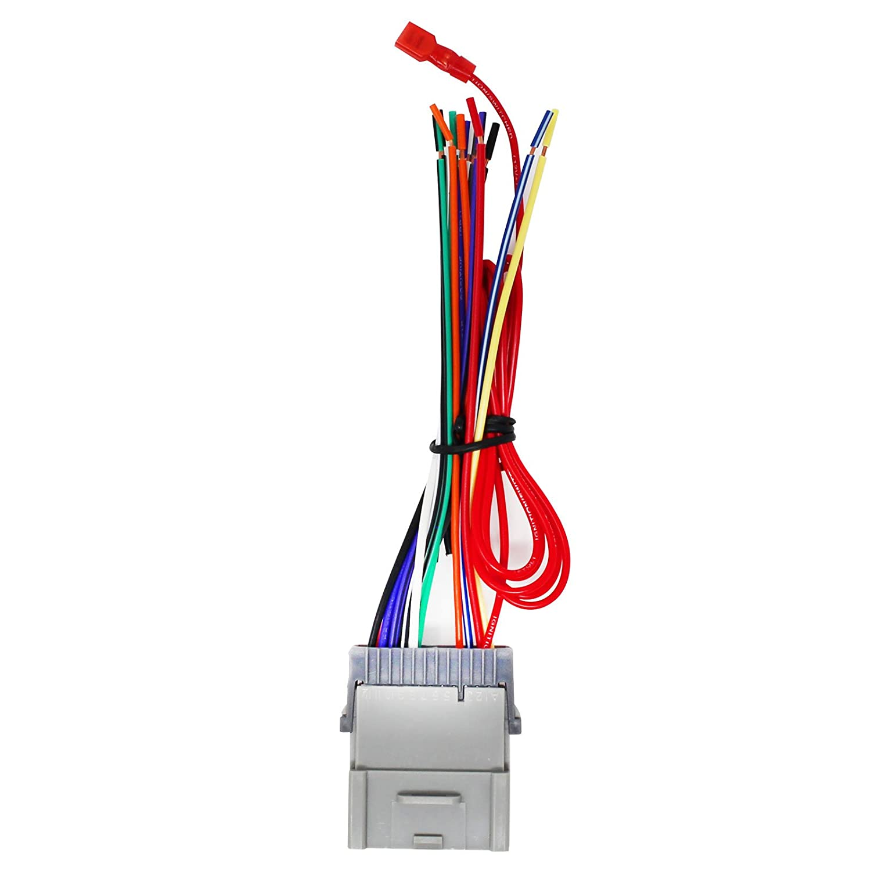Replacement Radio Wiring Harness For 2004 Hyundai Santa Sonata Stereo Wire Fe 2003 Pontiac Vibe Chevrolet Tracker