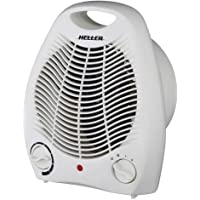 Heller 2000W Fan Heater Table Portable Electric Air Heat Blower Desk Home Office Indoor Winter Caranvan Camping AU/NZ…