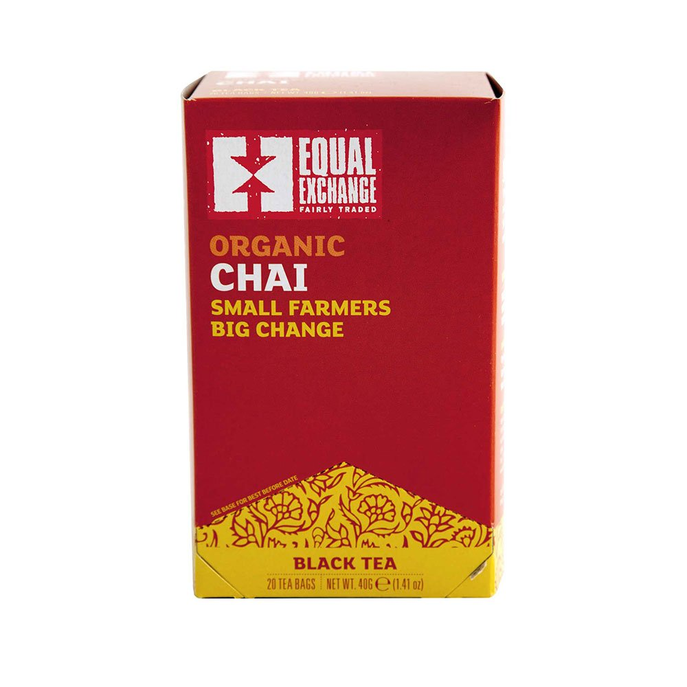 Equal Exchange Organic Chai, 20-Count (Pack of 3)
