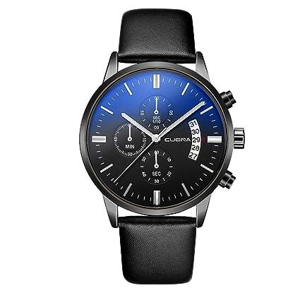 Amazon.com: XBKPLO Mens Quartz Watch,Analog Wrist Watches Business Fashion Classic Calendar Date Window, PU Leather Strap: Pet Supplies