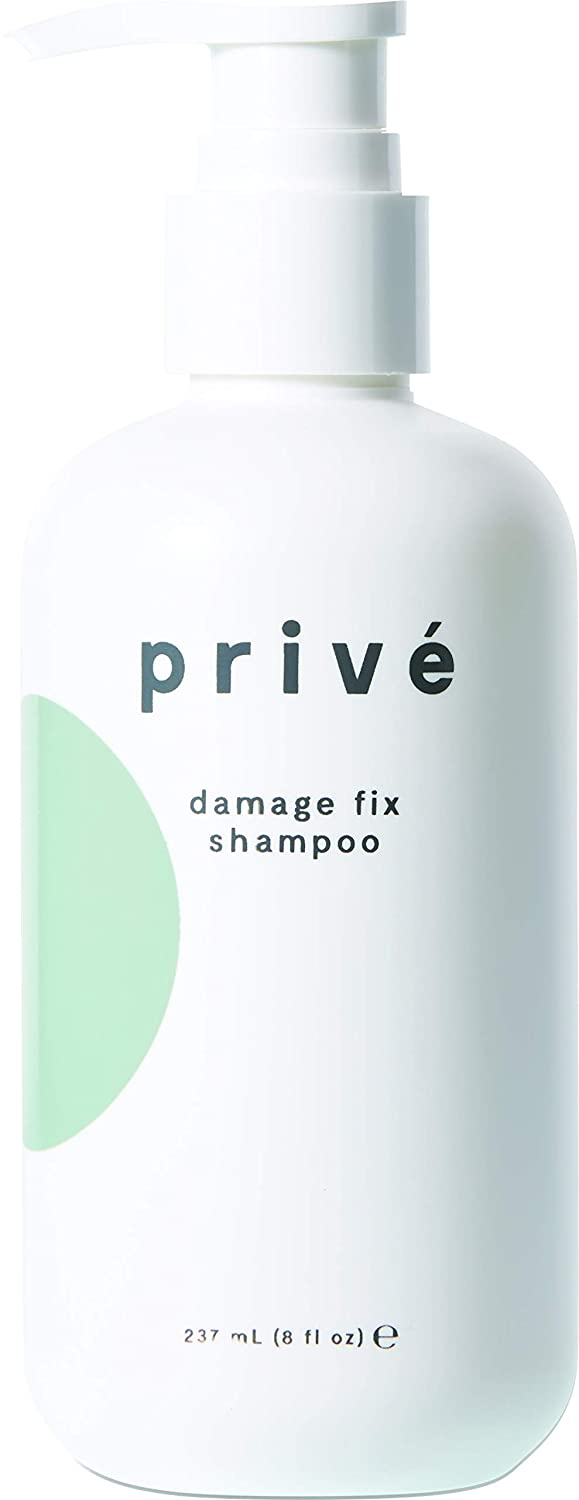 Privé Damage Fix Shampoo ( 8 Fluid Ounces / 237 Milliliters )-Repairs Dry and Over-Processed Hair From Within and Protects From Future Additional Damage