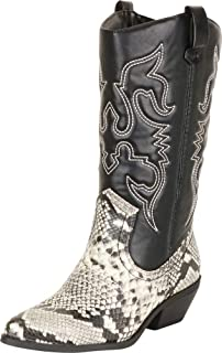 8b189fb6f806f Amazon.com | SheSole Women's Leather Ankle Boots Stacked Heel Bootie ...