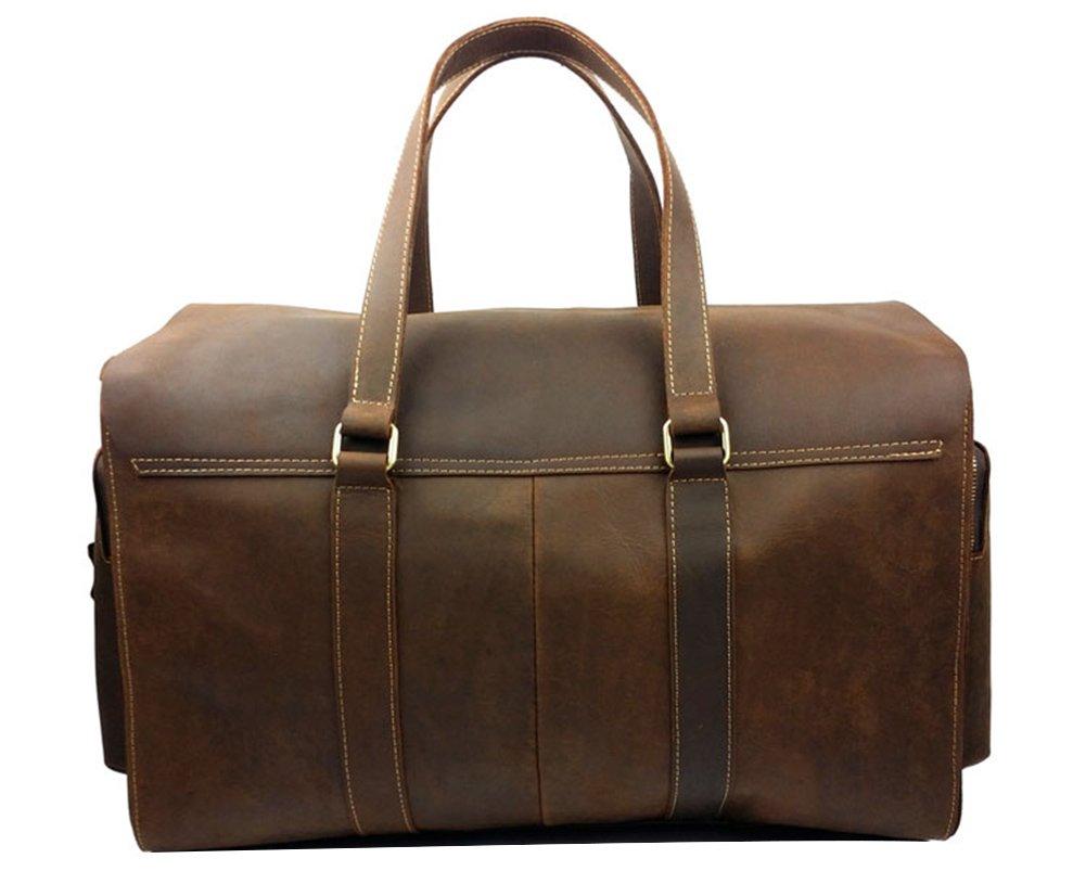 Genda 2Archer Vintage Travel Duffel Bag Boarding Luggage Carry On Gifts for Men by Genda 2Archer (Image #3)