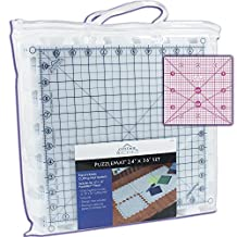 "PuzzleMat 24"" x 36"" Rotary Cutting Mat Set - Includes 6 - 12"" x 12"" pieces and carrying case. Perfect for the quilter on the go! ++ Bonus FREE 4"" x 4"" acrylic ruler a $5.99 value ++"