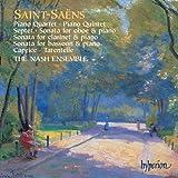 Saint-Saens: Piano Quartet, Piano Quintet, Septet, Oboe Sonata, Clarinet Sonata, Bassoon Sonata, Caprice, Tarantelle