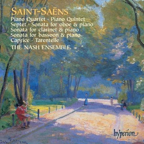 (Saint-Saens: Piano Quartet, Piano Quintet, Septet, Oboe Sonata, Clarinet Sonata, Bassoon Sonata, Caprice, Tarantelle)