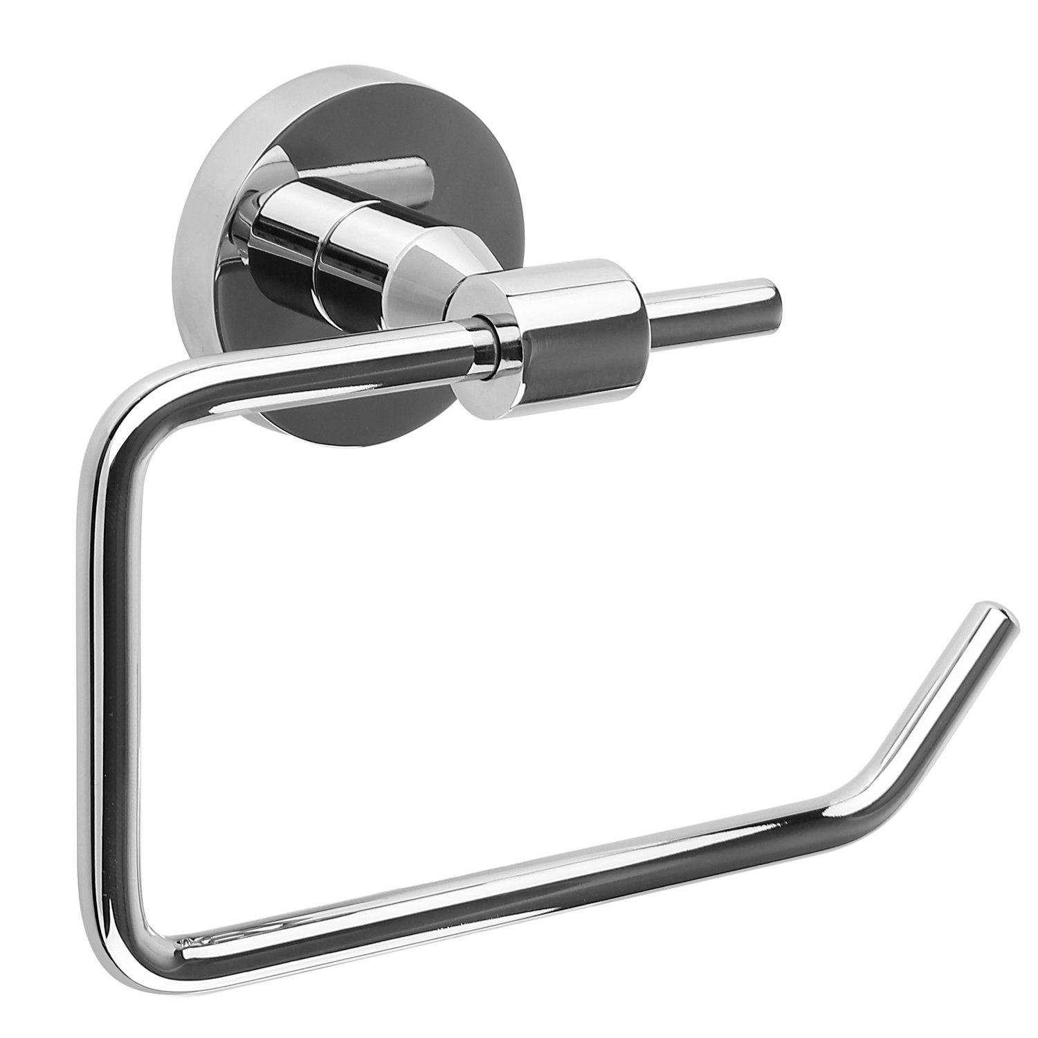 HOMFA Toilet Paper Holder Bathroom Tissue Roll Hanger Stainless Steel, Polished Finish HF