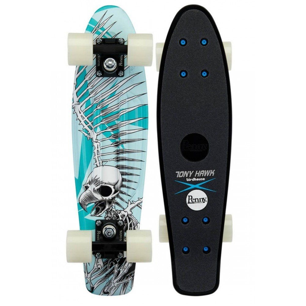品質保証 ペニースケートボード - プロスケートボード版 - B074CJ4CRG ホークフルスカル22