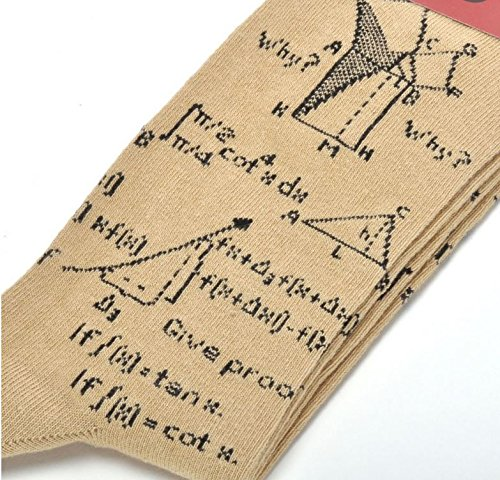 Complex Number Mathematical Equations Unisex Novelty Ankle Socks Adult Size 6-11