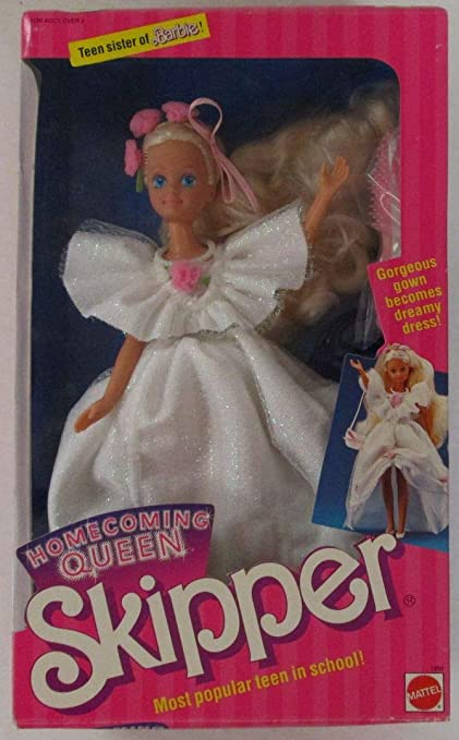 1988 Most Popular Teen in School! Teen Sister of Barbie Homecoming Queen SKIPPER Doll