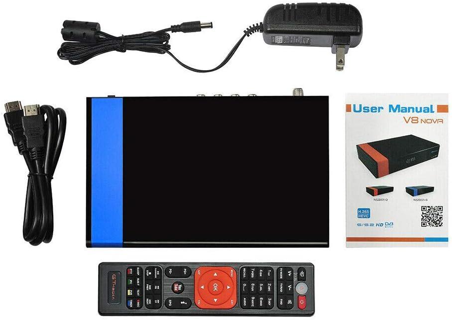 LFJNET Innovative GTMEDIA V8 NOVA HD 1080P DVB-S2 TV Receiver Support PowerVu,Biss Key H.265