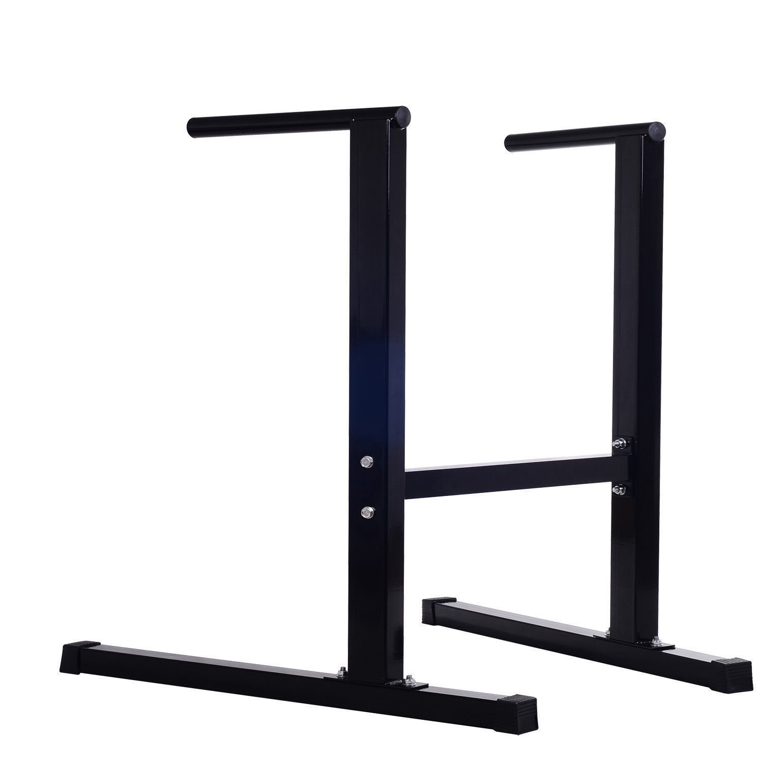 Dipping Station Dip Bar Self Standing Pull Push Up Body Fitness Exercise Workout With Ebook