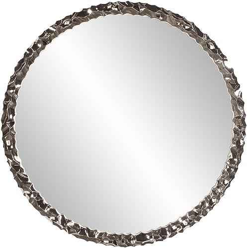 Howard Elliot Memphis Mirror, Glossy White