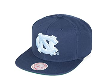 Image Unavailable. Image not available for. Colour  Mitchell   Ness North  Carolina Tar Heels Wool Solid Snapback NCAA Cap Navy b154423e71