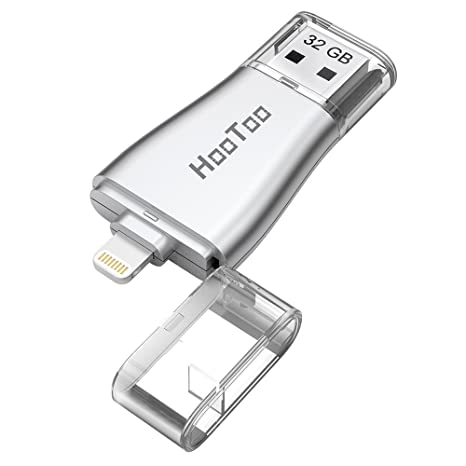 HooToo – Memoria USB para Dispositivos Apple iPhone, iPad, MacBook, Ordenadores y Ordenadores