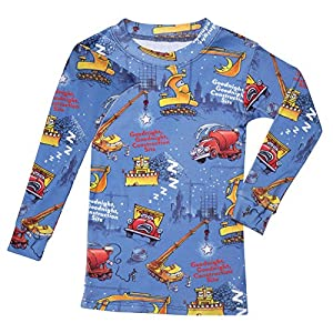 Children's Goodnight, Goodnight Construction Site Blue Two Piece Pajama Set