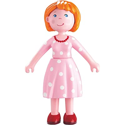 "HABA Little Friends Mom Katrin - 4.5"" Bendy Mother Doll Figure: Toys & Games"