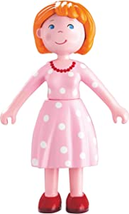 "HABA Little Friends Mom Katrin - 4.5"" Bendy Mother Doll Figure"